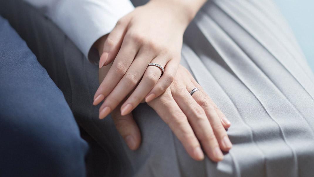 ふたりで自由にデザインする結婚指輪