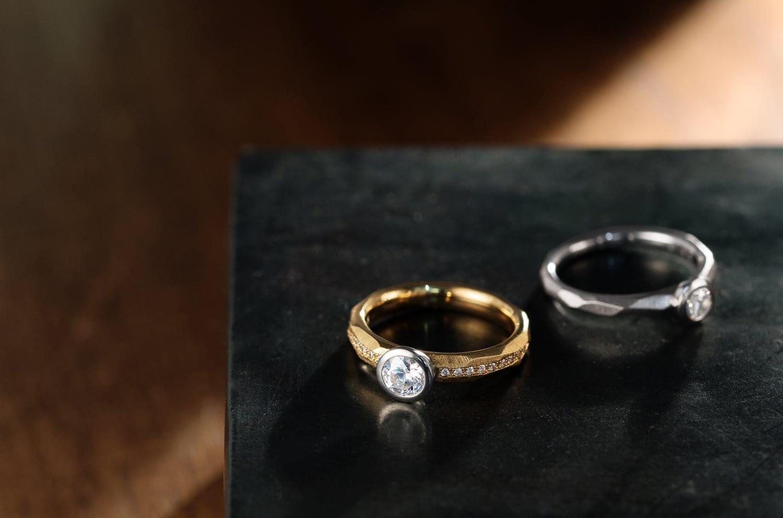 ダイヤモンドリング(E911-02-01143-D,E221-02-01141-D)