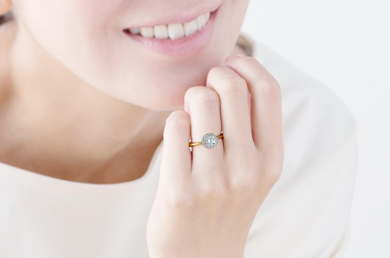 ダイヤモンド リング(E911-02-01145-D)