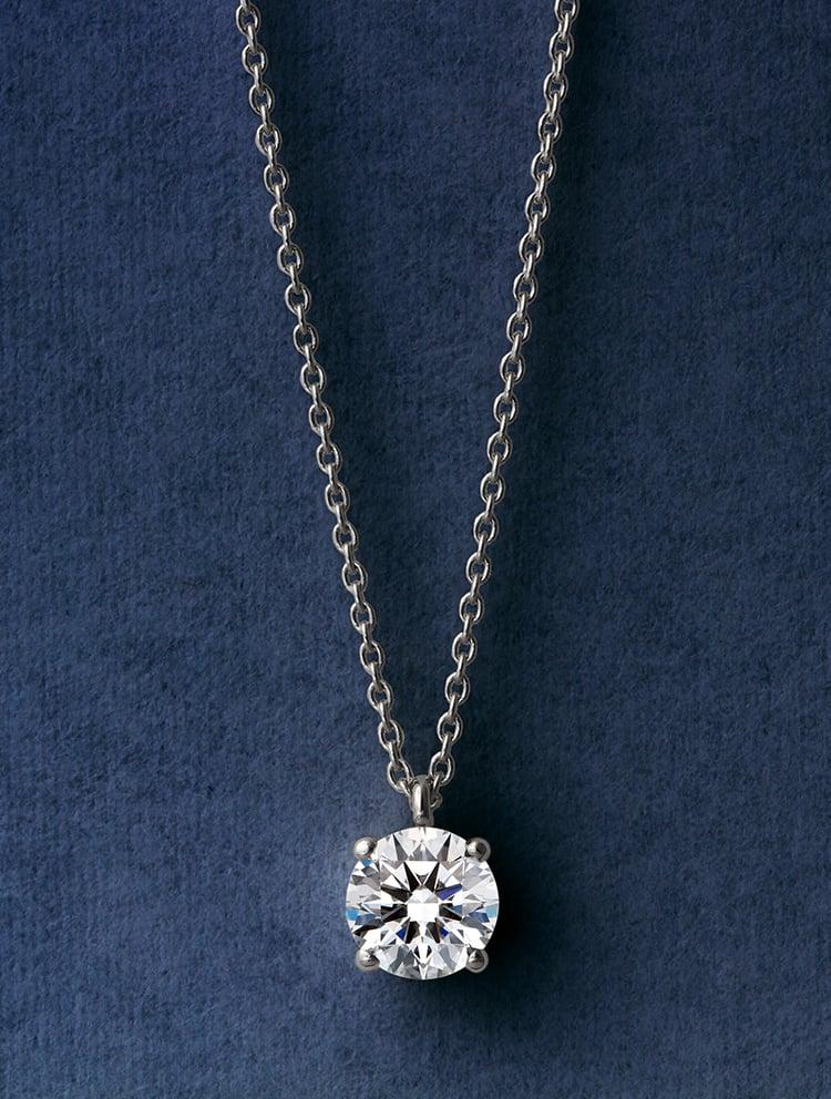 ネックレス ダイヤモンド ペンダント(P221-P85ABAA-00936-E)