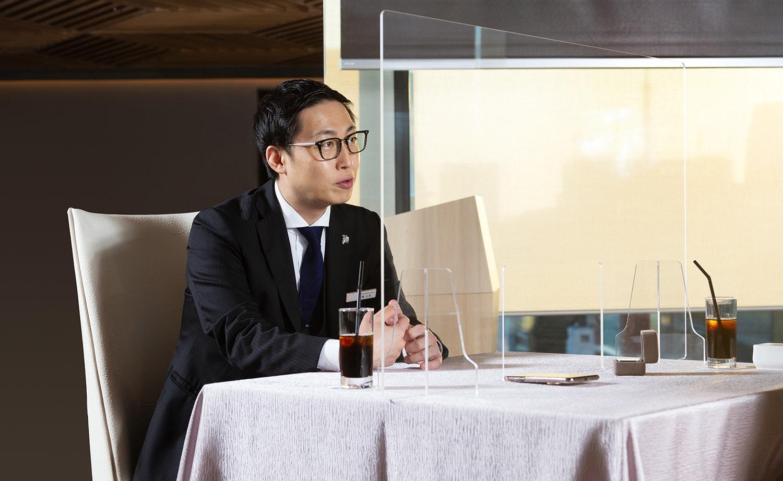 VMG HOTELS & UNIQUE VENUESの高橋さん