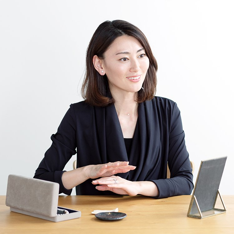 BRILLIANCE+スタッフの北條久美子