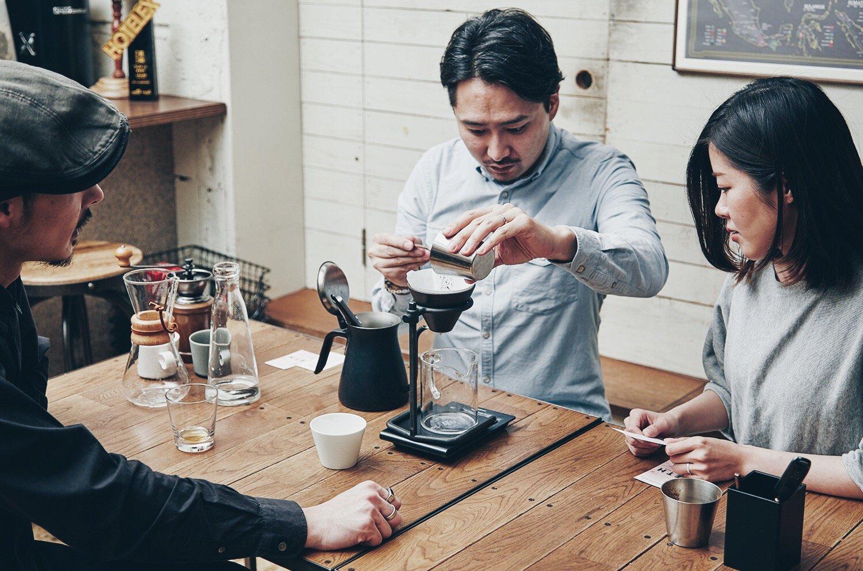 コーヒー豆の淹れ方1-1