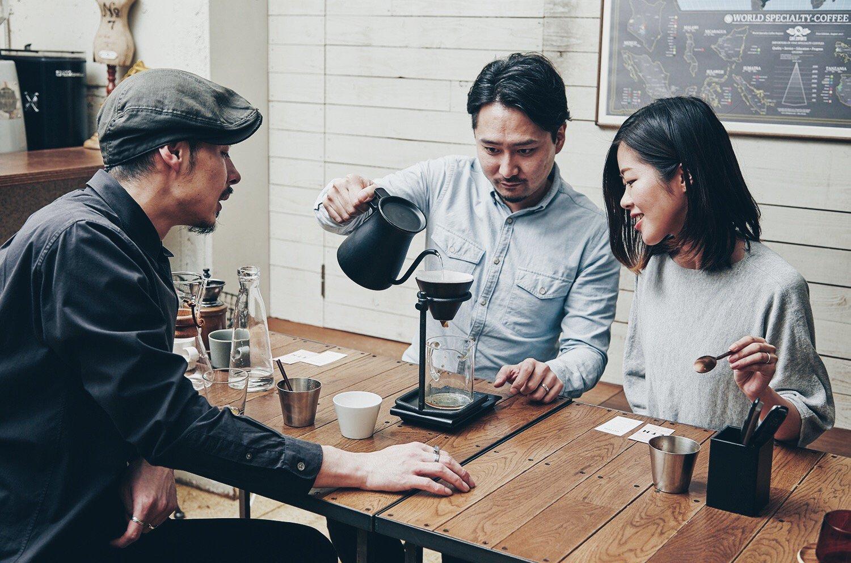 コーヒー豆の淹れ方1-2