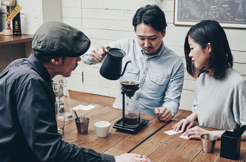 コーヒー豆の淹れ方4