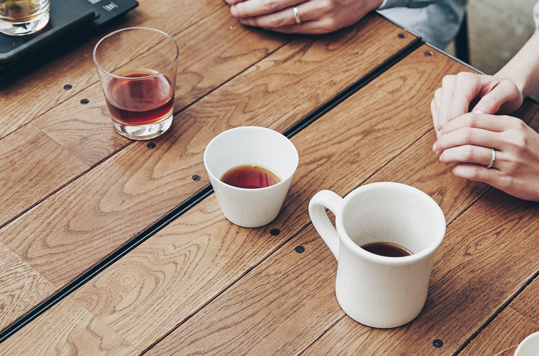 3つのカップ