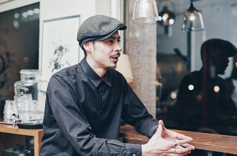 グリッチコーヒースタッフの小坂田祐哉さん