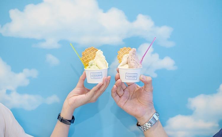 横浜 YOKOHAMA SORAiRO gelato