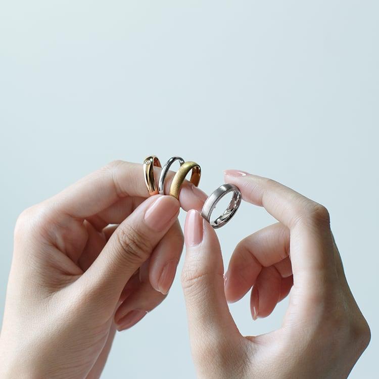 後悔しない結婚指輪選びはリング幅に注目!ぴったりの太さを決める6つのポイント