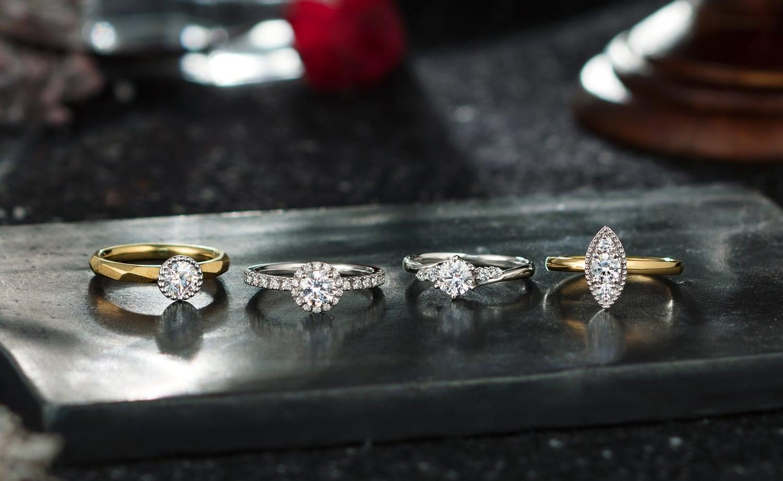 婚約指輪はブリリアンスプラス