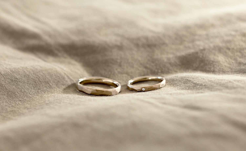 結婚指輪 オーバルヴィンテージリング