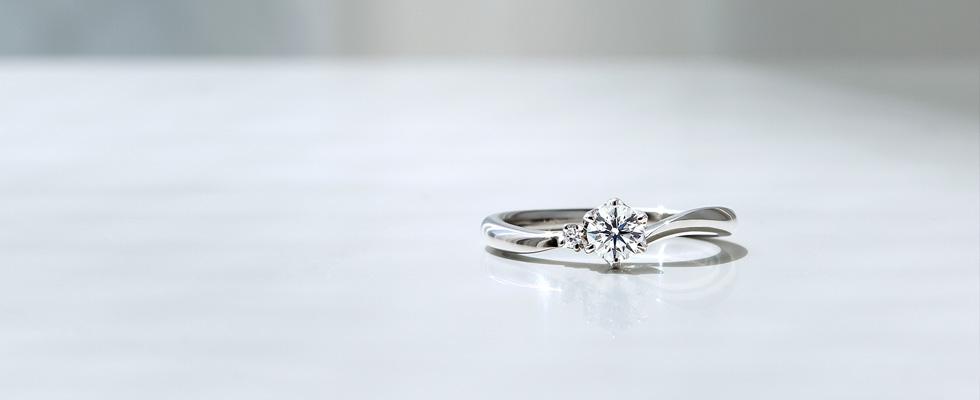 婚約指輪のダイヤモンドを留める爪、4本と6本どっちがいいの?画像