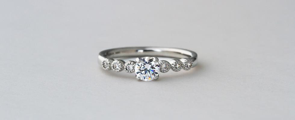 婚約指輪 0.4ct画像