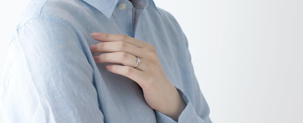 婚約指輪は一緒に買う?それとも自分で買う?画像