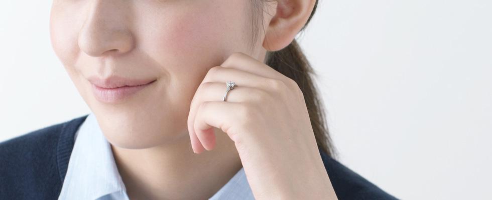 運命の婚約指輪との出会い方画像