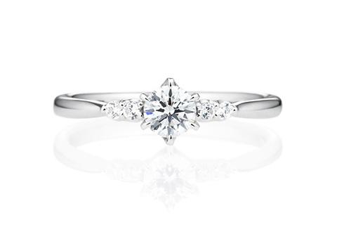 婚約指輪サイドストーンリング01201