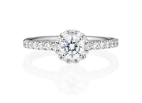婚約指輪エタニティーリングタイプヘイロー00898