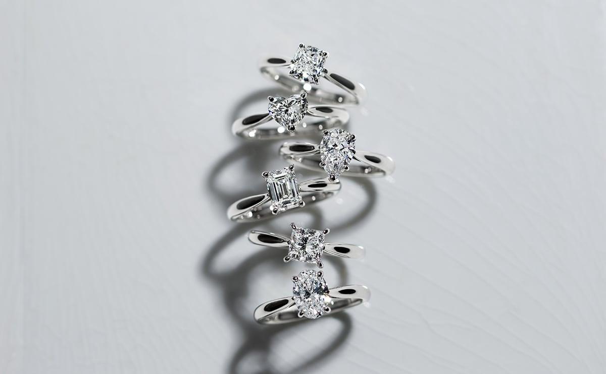 婚約指輪の圧倒的な品揃え