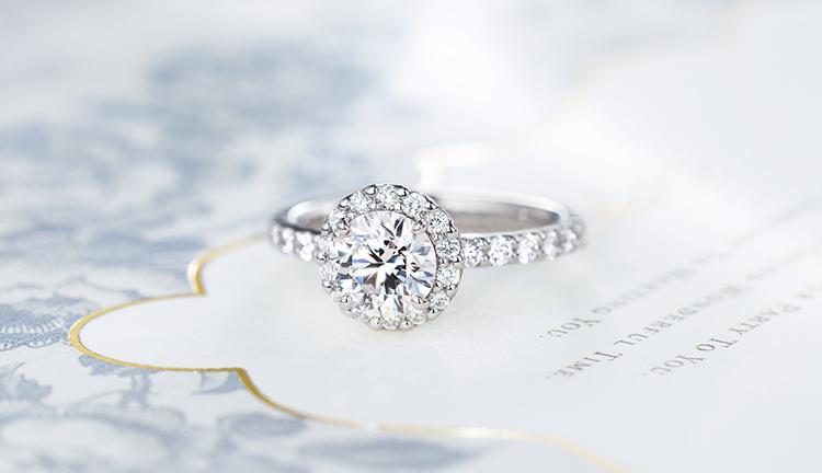 ご注文いただいた婚約指輪