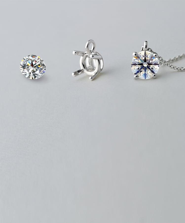 ダイヤモンドネックレスのオーダーメイド