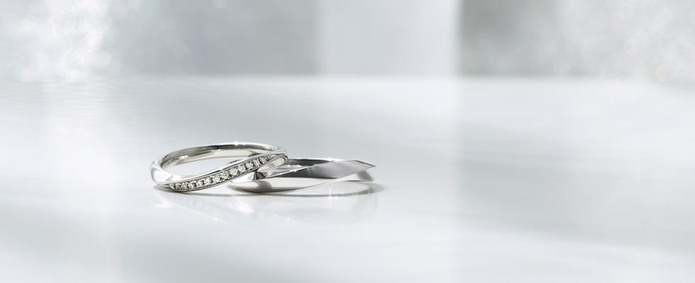 結婚指輪のバリエーション画像