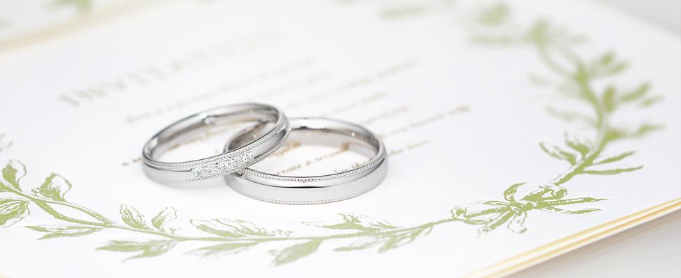 彼も彼女もHAPPY!な結婚指輪の選び方画像