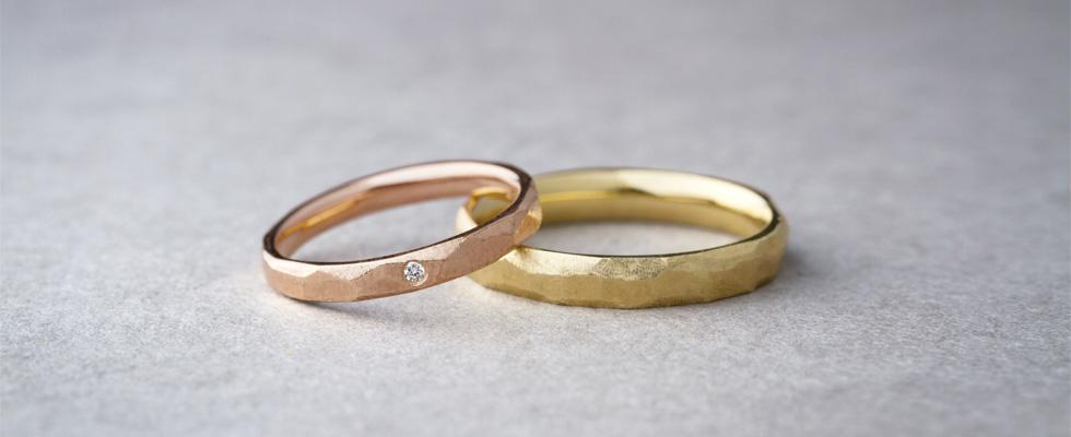 結婚指輪のデザイン、男女同じ派?違う派?画像