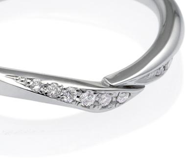 エール 2.3mm ダイヤモンドリング