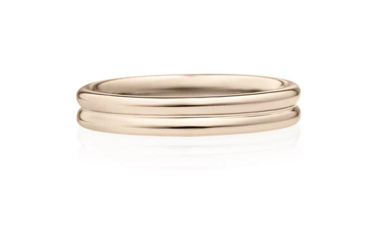 結婚指輪 ミルフィーユドゥーブル