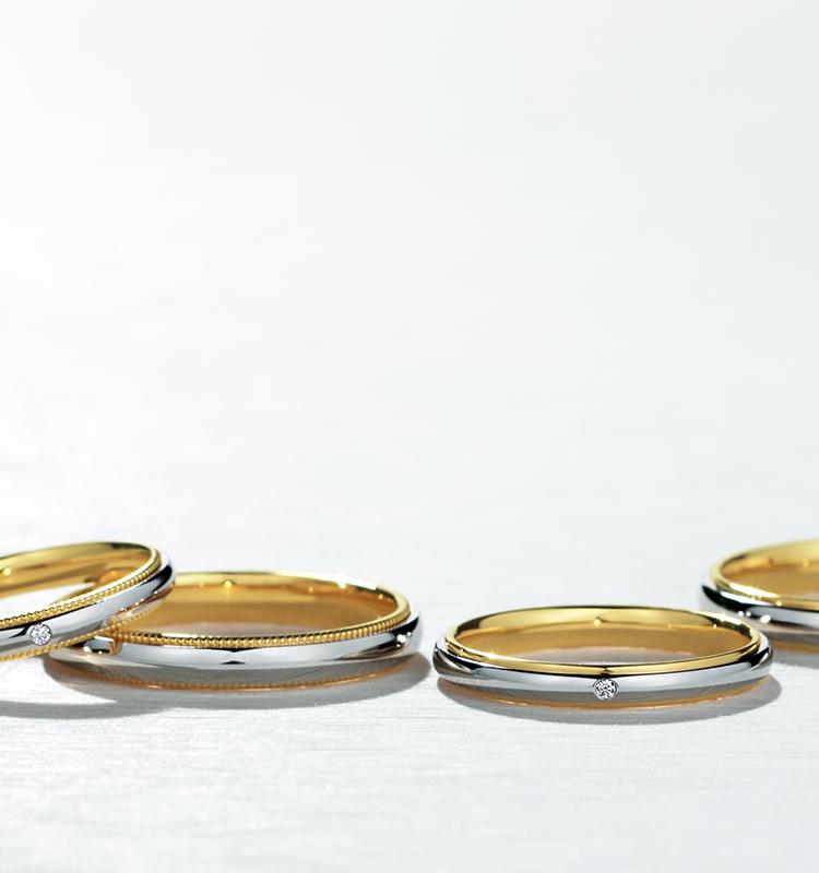 結婚指輪コンビネーションリング