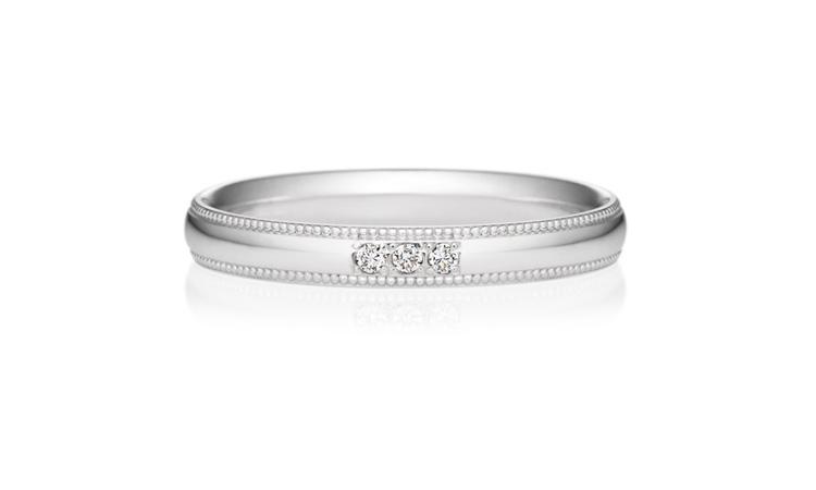 結婚指輪 プチエタニティ