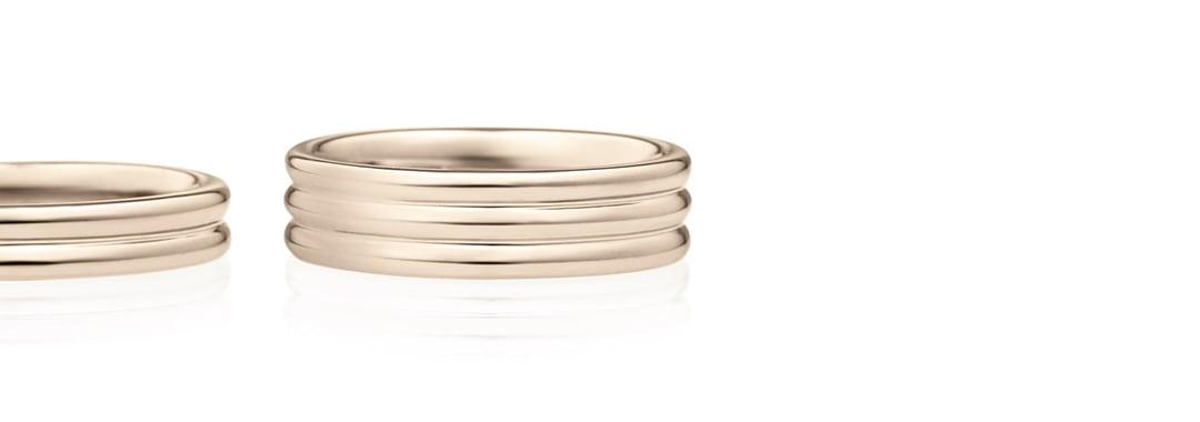 結婚指輪 ミルフィーユ