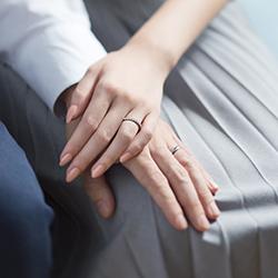 ご注文頂いた結婚指輪