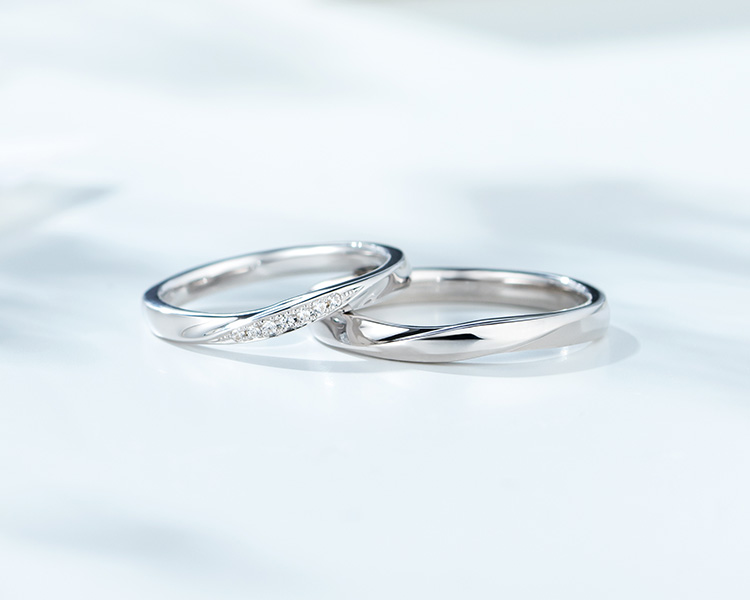 プラチナの結婚指輪