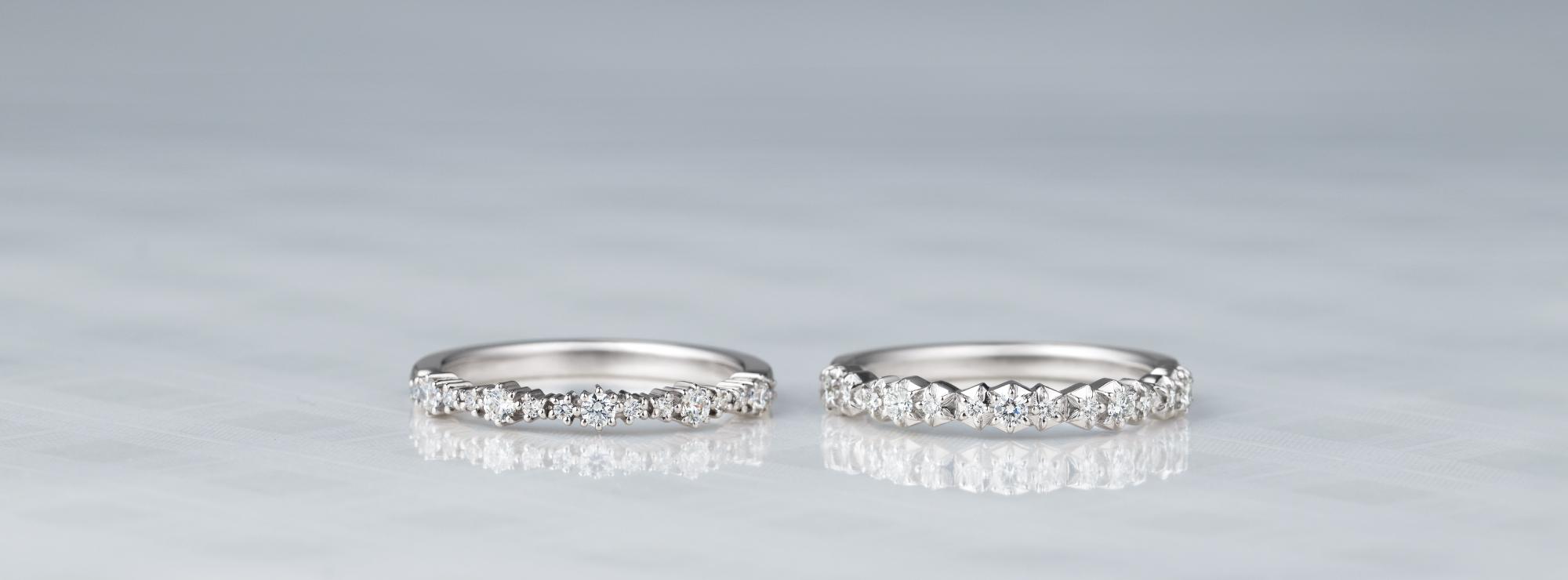結婚指輪 ルフラン エトワール エタニティダイヤモンドリング