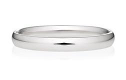 オーバルストレートの結婚指輪