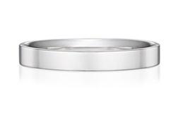 スクエアストレートの結婚指輪