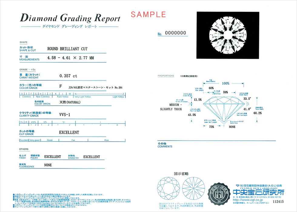 中央宝石研究所:CGL