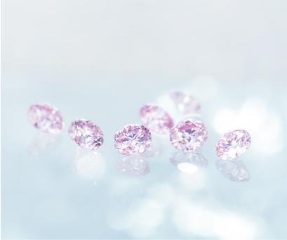 シークレットストーン ピンクダイヤモンド