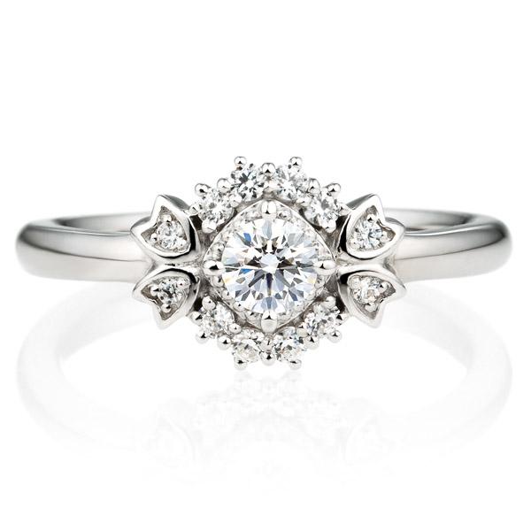 PT900 リュミナ  ノーブル  ダイヤモンド リング 0.2ct