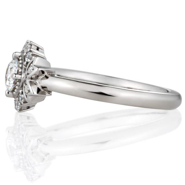 PT900 リュミナ ノーブル   ダイヤモンド リング 0.3ct
