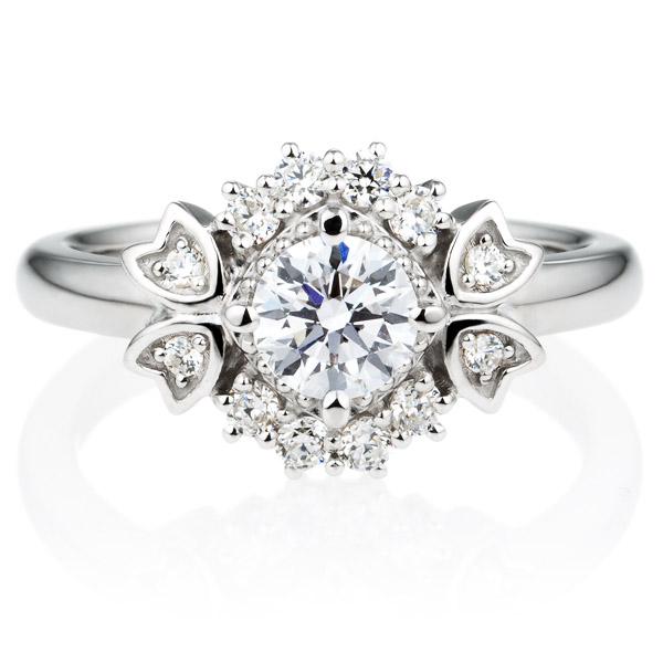 PT900 リュミナ ノーブル   ダイヤモンド リング 0.5ct