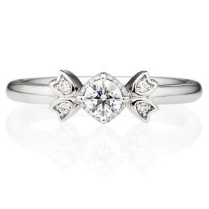 PT900 リュミナ ダイヤモンド リング 0.2ct