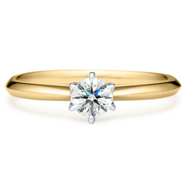 婚約指輪のコンビネーション