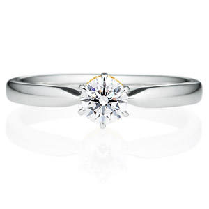 PT900/K18YG ミルグレイン コンビネーション 2ダイヤモンドリング for 0.3ct