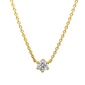 アイコニック ダイヤモンド ネックレス