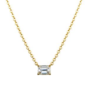 ファンシーシェイプ ダイヤモンドネックレス