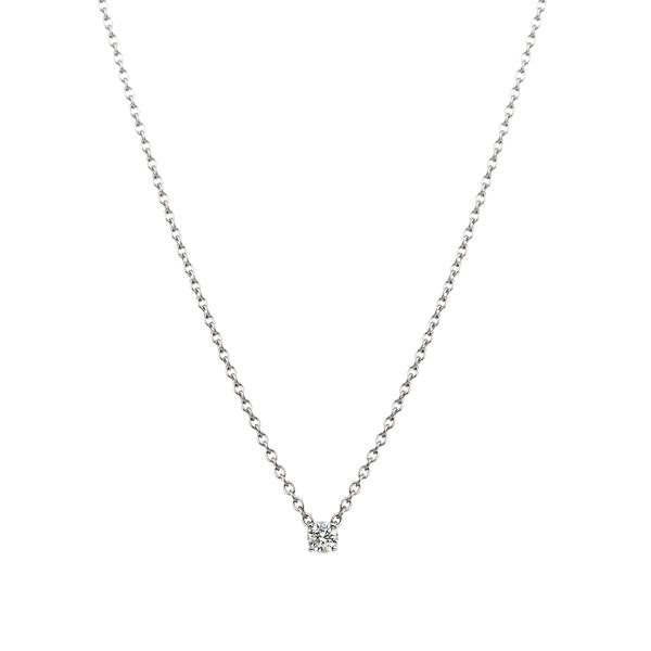 PT900  アイコニック4ポイント ダイヤモンド ペンダント 0.05ct
