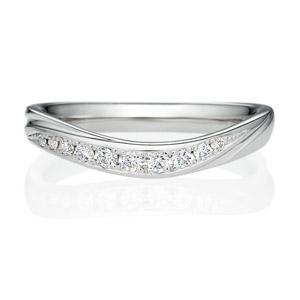 ウェーブラインVの結婚指輪