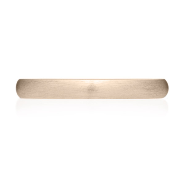 K18CG オーバル リング ヘアーライン 2.5mm 4-14